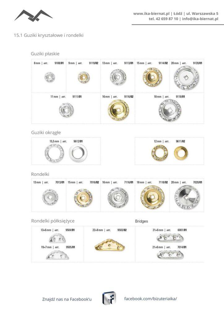 Guziki-i-rondelki-s1 | Guziki kryształowe i rondelki