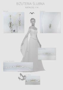 KATALOG 114-min   Biżuteria ślubna komplety