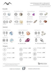 czeskie kryształki