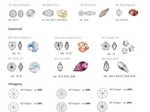Kryształki-s2 | czeskie kryształki