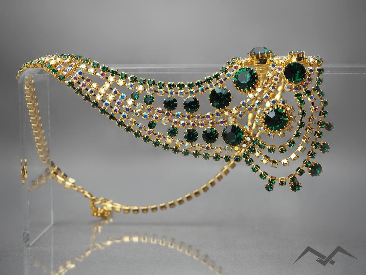 duża biżuteria sztuczna czeska IKA