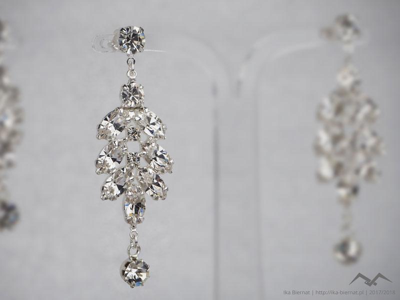 komplet biżuterii ślubnej - biżuteria sztuczna IKA