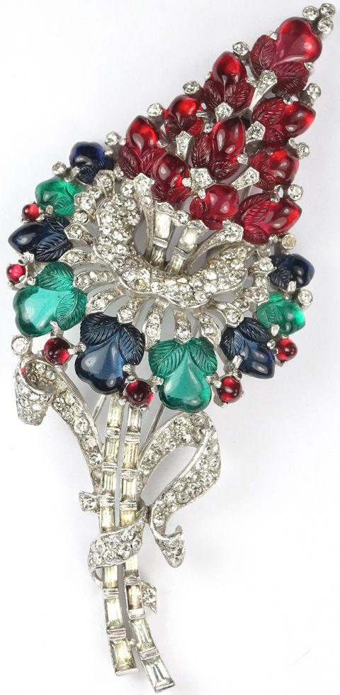biżuteria sztuczna Trifari