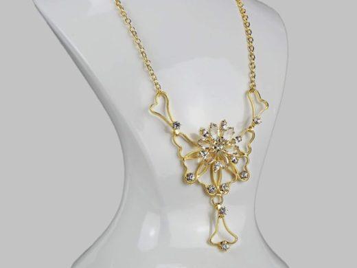 Naszyjnik Jay Gold Butterfly