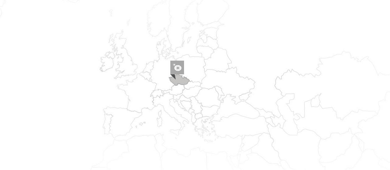 preciosa czechy mapa